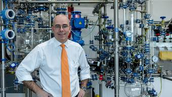 Mit seinem Laborgebäude schafft Markus Blocher in Dottikon rund 100 neue Arbeitsplätze.