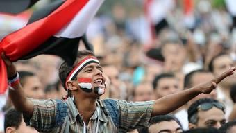 Brachten neue Mitglieder für säkulare ägyptische Parteien: Proteste auf dem Tahrir-Platz (Archiv)