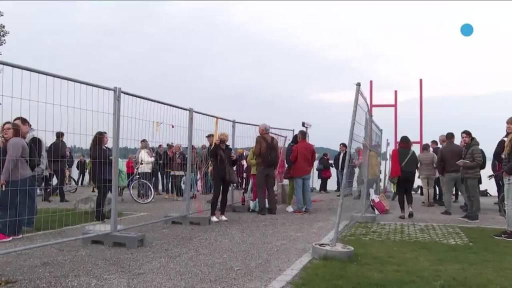 Schweiz als Risikoland: Kommt jetzt wieder der Grenzzaun bei Kreuzlingen?