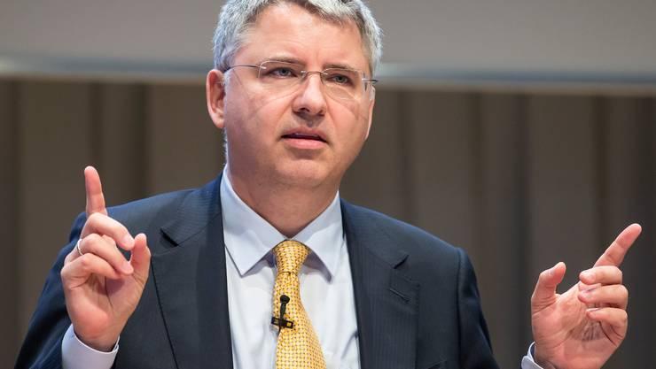 Roche-Chef Severin Schwan. In seinem Unternehmen war die Lohnschere vergangenes Jahr am höchsten.