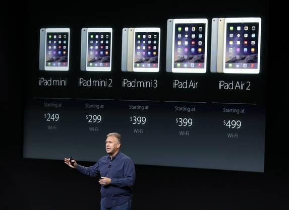 Die neuen Tablets von Apple.