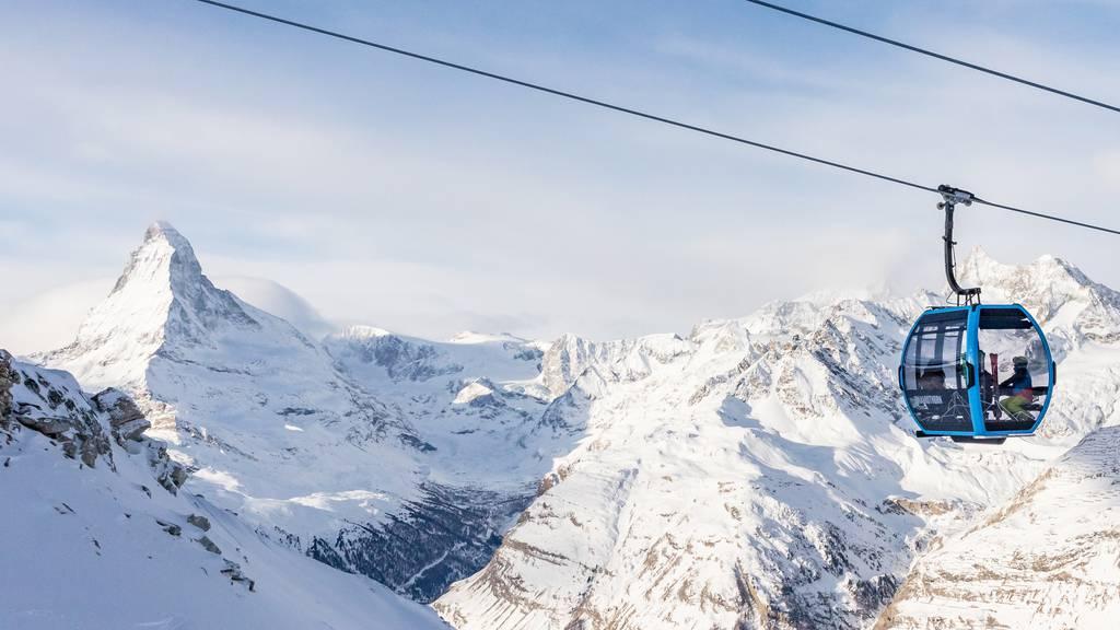 Die erste autonome Gondelbahn der Schweiz ist in Betrieb