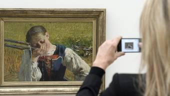 Die Segantini-Ausstellung in Riehen lockte zahlreiche Besucher an