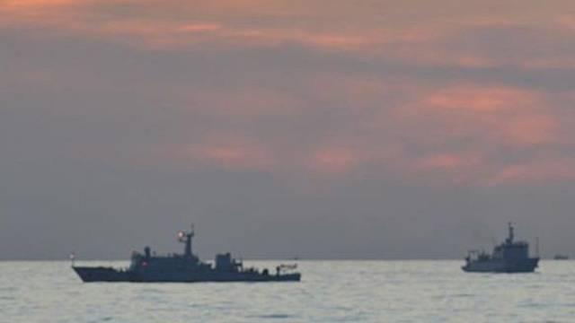Schiffe im südchinesischen Meer