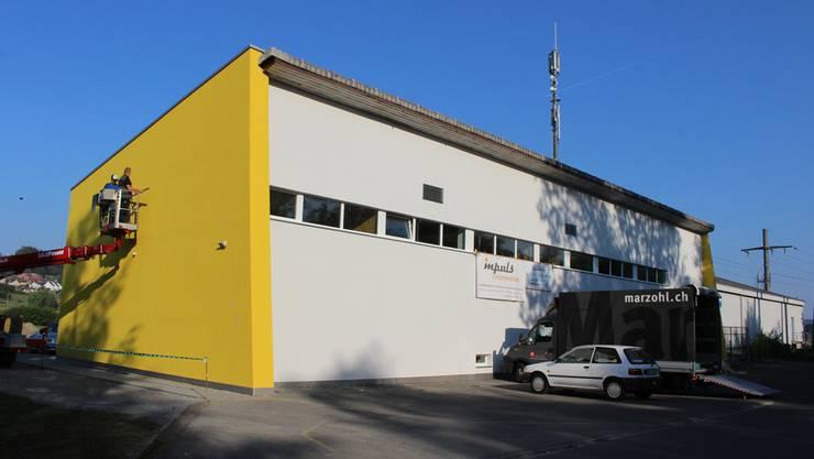 Hier stört sich niemand an lauter Musik: Das Freizeithaus «Onderwerch» liegt im Reinacher Moos, fernab der Wohnquartiere.