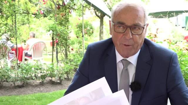 Freude herrscht: Alt Bundesrat Adolf Ogi wird 75 Jahre alt