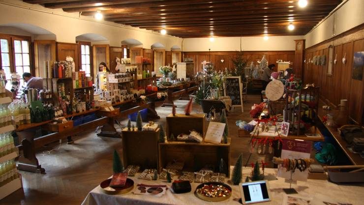 Noch bis am 1. Dezember lädt die Stadt Solothurn zur Ausstellung «Advent im Kloster» im Kapuzinerkloster ein. (Auf dem Bild die letztjährige Ausstellung)
