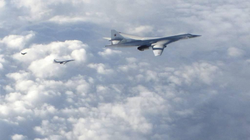 Nato sichtet ungewöhnlich viele russische Militärflugzeuge