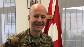 Oberst Philipp Wagner ist Chef des Kompetenzzentrums Militärmusik in Aarau.
