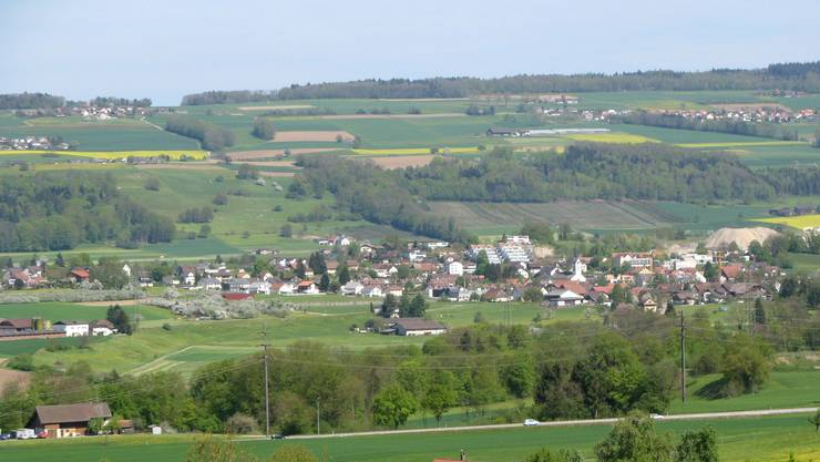 Das Dorf Stetten auf einem Archivbild.