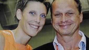 Ermordet: Ingrid Visser undihr Freund Lodewijk Severein. HO