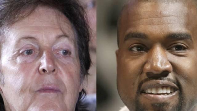 """Dream Team"" McCartney und Kanye (Archiv)"