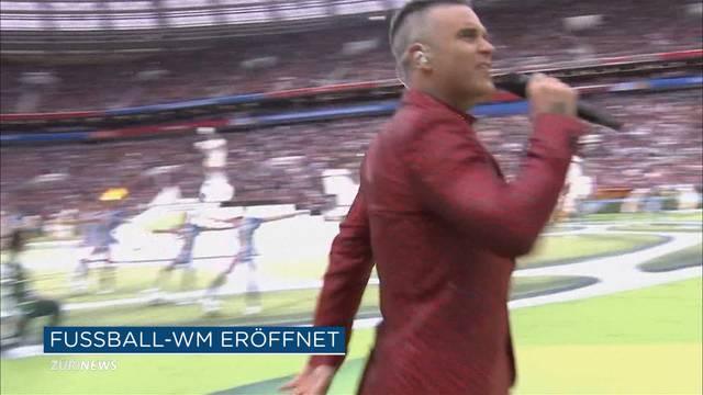 Eröffnungsfeier der WM 2018: So wurde das Turnier eröffnet
