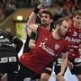 Handball: NLA, 2019/20, Hauptrunde, HSC Suhr Aarau - BSV Bern