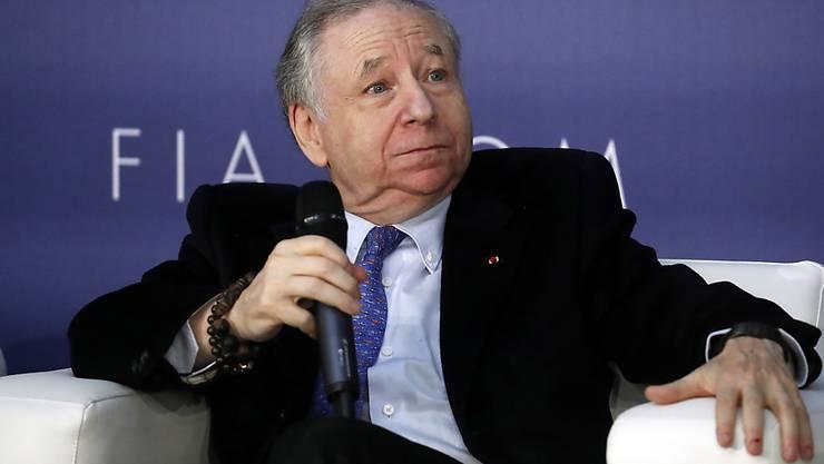 Die FIA mit Präsident Jean Todt arbeitet an einem neuen Rennkalender für die Formel 1