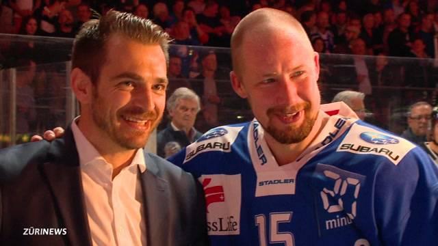 Hockeyspieler Mathias Seger wird geehrt
