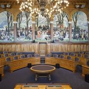 Blick in den Ständeratssaal