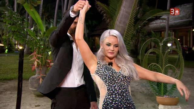 Gleich beim ersten Treffen den Dreh raus: Laura aus Grenchen mit der «speziellen» Haarfarbe