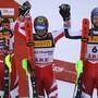 Impressionen vom WM-Slalom der Männer