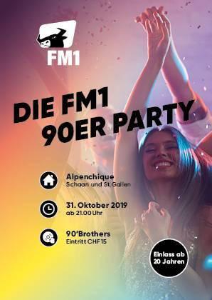 FM1 feiert heute die 90er-Jahre