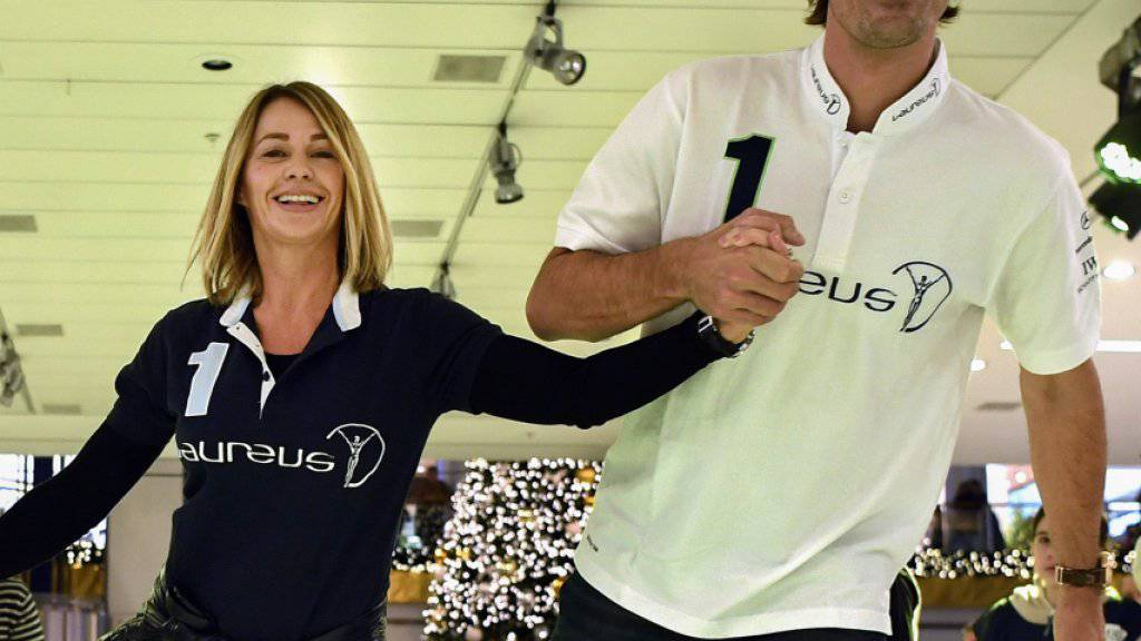 Fabian Cancellara (rechts) erhält hohe Prestige-Funktion bei Laureus