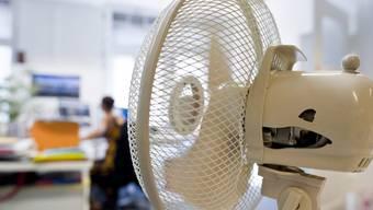 Hilft gegen Hitzestau im Büro: der Ventilator.