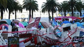 Occupy San Francisco vor der Räumung (Archiv)