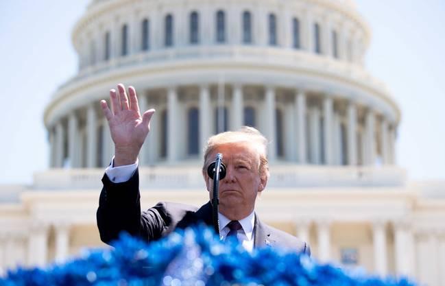 US-Präsident Donald Trump empfängt Bundespräsident Ueli Maurer im Weissen Haus.