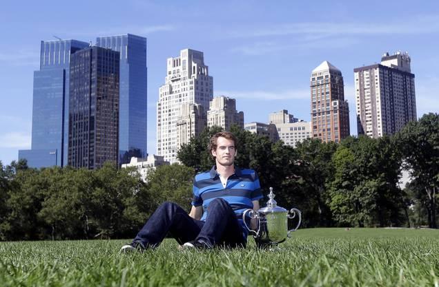2012 der erste Grand-Slam-Triumph: Murray gewinnt die US-Open,