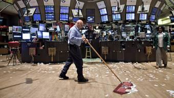 Das schlechte Börsenjahr wirkt sich negativ auf den AHV-Fonds aus.