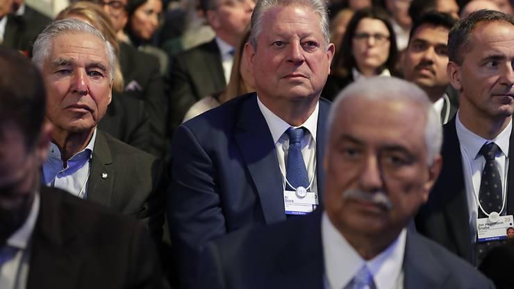 Der ehemalige US-Vizepräsident Al Gore befindet sich auch dieses Jahr unter den Teilnehmern des WEF in Davos.