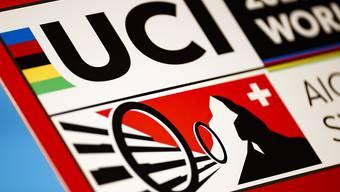 Das Logo der nächstjährigen Rad-WM in Aigle-Martigny