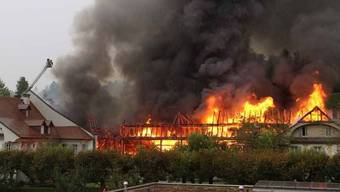 Grossbrand in Zofingen am 31. August
