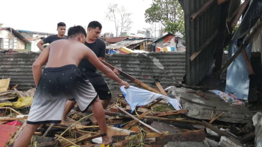 Mindestens 16 Tote durch Taifun auf den Philippinen