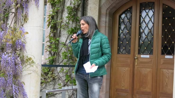 Rebekka Sieber durfte 350 Personen begrüssen.