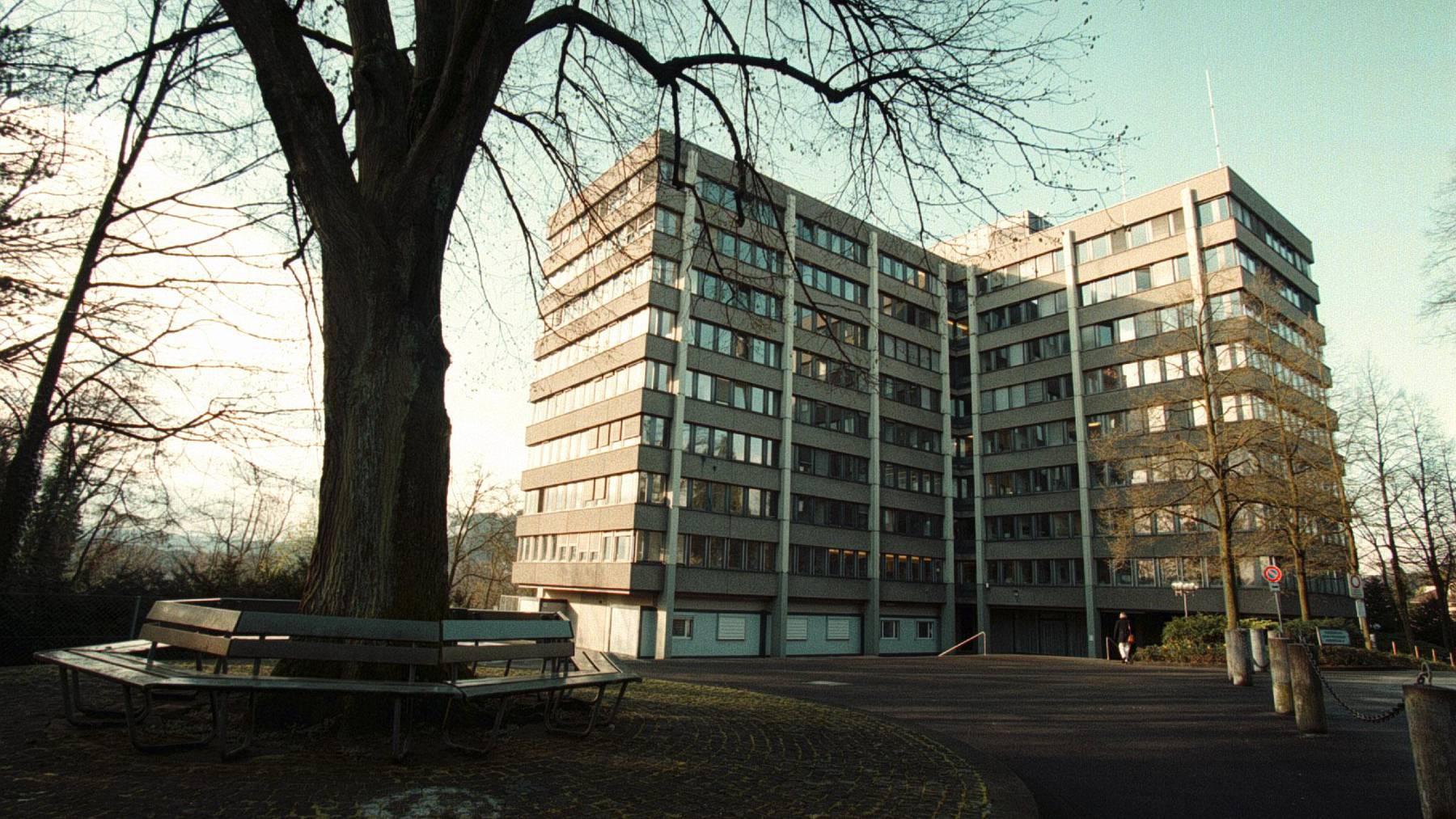 Hier arbeiten viele Mitarbeitende der Bundesverwaltung: Die Taubenstrasse in Bern.