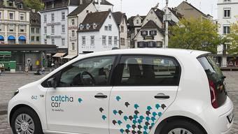 Ein Auto von Catch a Car in Basel: das stationsungebundene Carsharing-Angebot hat sich am Rheinknie bewährt.