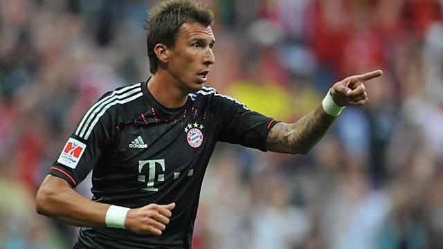 Mario Mandzukic hat sich bei den Bayern schnell eingelebt.