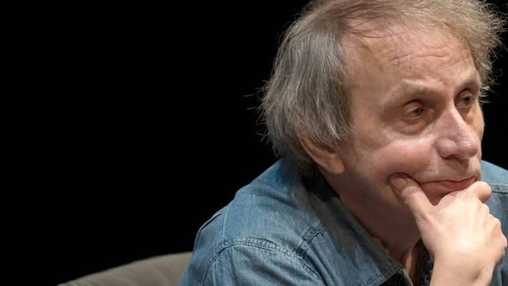 Der französische Autor Michel Houellebecq feiert am 26. Februar 2018 den 60. Geburtstag. (Archiv)