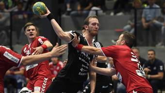 Tim Aufdenblatten, hier in einem Spiel gegen Endingen, war gegen Kadetten Schaffhausen der beste Mann auf dem Platz.