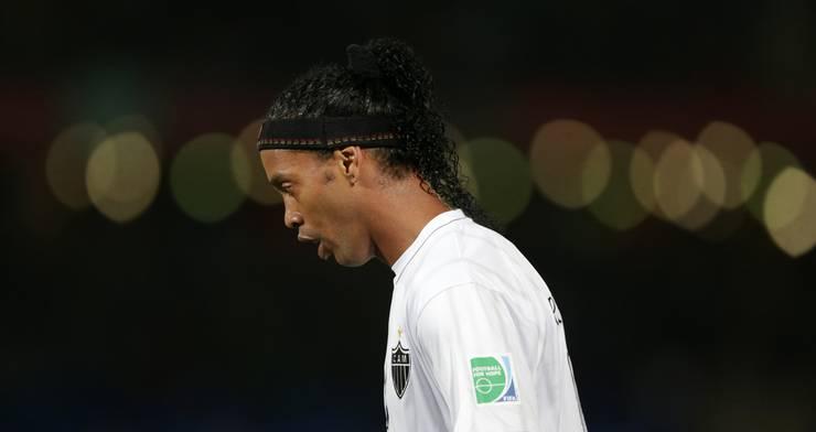 Ronaldinho im Dress von Atletico Mineiro. Für den Club spielt er seit Mitte 2012.