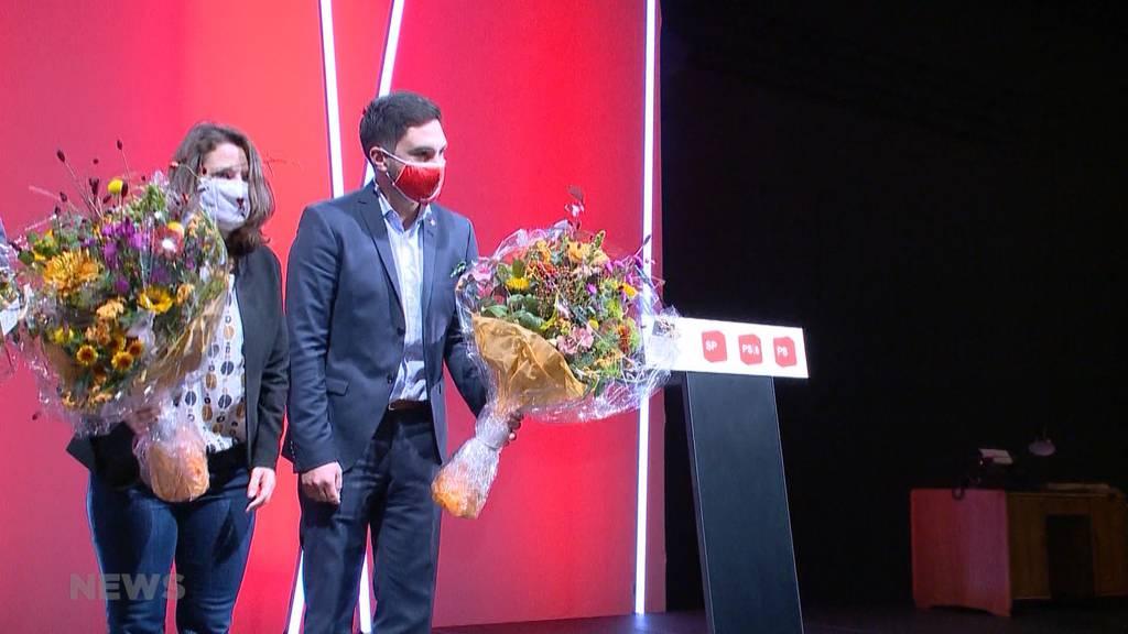 Mattea Meyer und Cédric Wermuth als neues SP-Präsidenten-Duo