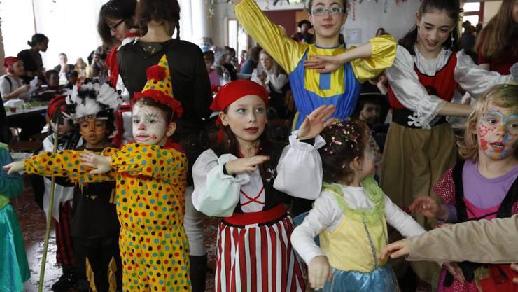 Die Kinder hatten beim Maskenball im Lindensaal viel Spass