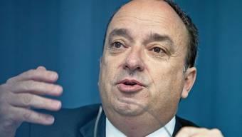 Finanzdirektor Markus Dieth steht vor der grossen Frage, wie hoch der Einnahmenausfall wegen Corona wird.