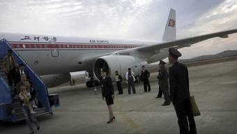 Am Flughafen in Pjöngjang werden vorerst keine US-Amerikaner mehr landen – es sei denn, sie haben eine Spezialbewilligung.