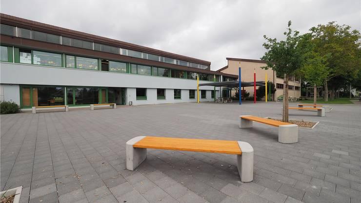 Die Primarschule Härkingen rüstet sich für den erwarteten Schülerzuwachs. bko