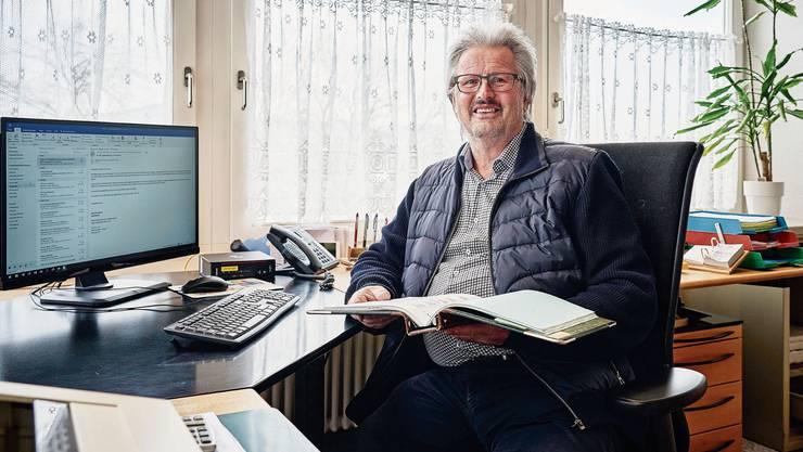 Heinz Wölfli wohnt in Schöftland und arbeitet seit einer gefühlten Ewigkeit in Reitnau.
