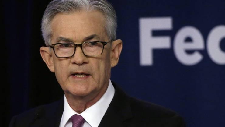 US-Notenbankchef Jerome Powell hat am Mittwoch den Leitzins um 0,25 Prozentpunkte gesenkt. Es handelt sich um die erste Leitzinssenkung in den USA seit der Finanzkrise. (Archiv)