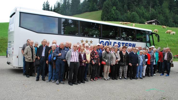 Seniorenreise des reformierten Pfarrkreises Obergösgen-Lostorf-Stüsslingen/Rohr vom Donnerstag, 5. September 2019 durchs Emmental