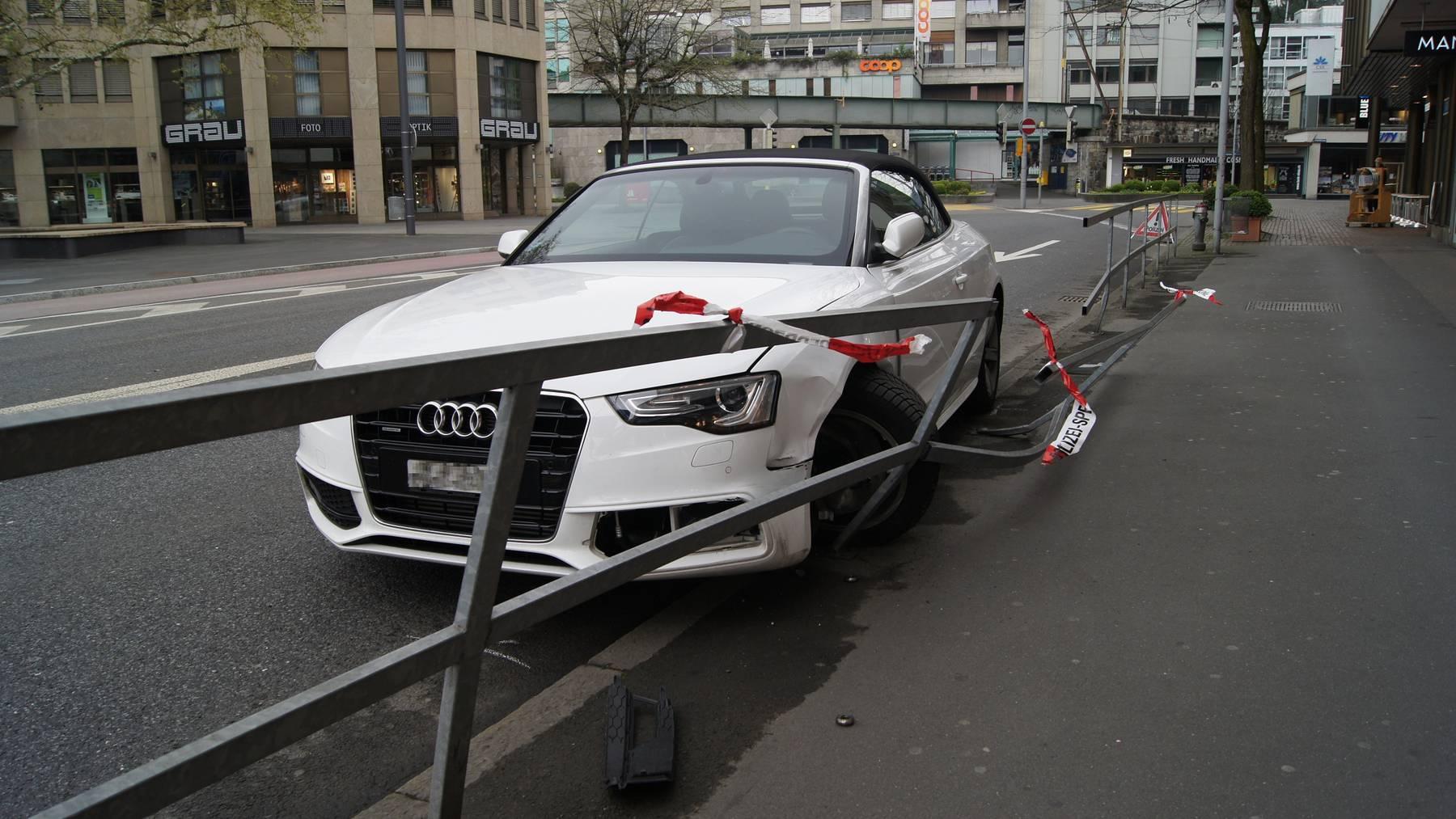 Mit 2,79 Promille parkiertes Auto gerammt
